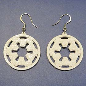 Galactic Empire Earrings